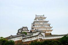 Castillo de Himeji recién reformado. Japón 2015. #viajes #viajar #fotografia