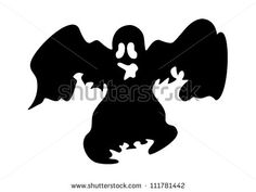 Ghost silhouette