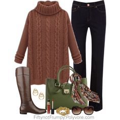 """Giving Thanks with Family"" by fiftynotfrumpy on Polyvore"