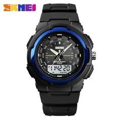 Men's Watches Sensible Skmei Outdoor Sport Men Watch Fashion Casual Digital 50m Water Resistant Wristwatches World Time Relogio Masculino Montres 1314 Digital Watches