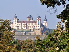 Würzburg, Festung Marienberg DE BY