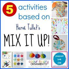 Mix It Up! Activities for Preschool Book Club
