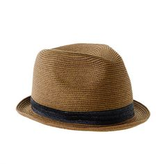 851b0aa8b71 J.Crew - Boys  solid band trilby hat Hat Day