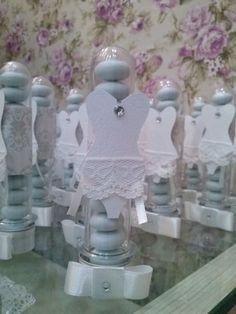 Chá de Lingerie - decoração e personalizados - TUBETE ESPARTILHO