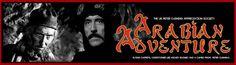 Christopher Lee and Peter Cushing 'ARABIAN ADVETURE'   petercushing.org.uk