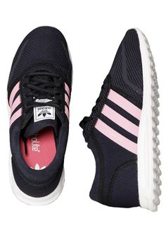 Checkout this out: Adidas - Los Angeles K Legend Ink/Spring Pink/Ftwr White  - Girl Shoes for
