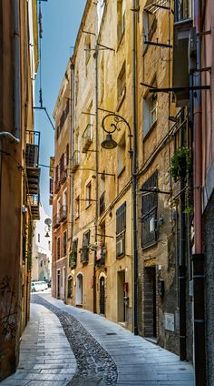 Cagliari Old Town - Cagliari Old Town Street