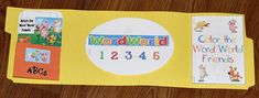 Free Word World Tot Book