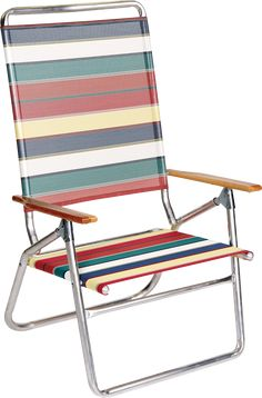 Highboy Chair With Wood Arms High Seat Beach Chairs