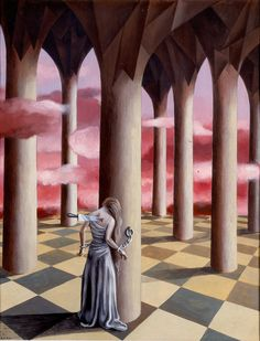 Dolor  Reumático II  by Remedios Varo