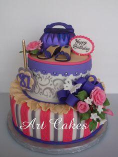 <3 Birthday Cake by Art Cakes, via Flickr