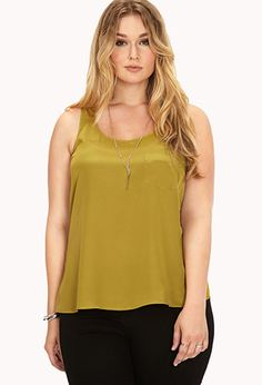 Favorite Relaxed Fit Tank | FOREVER21 PLUS - 2000090849