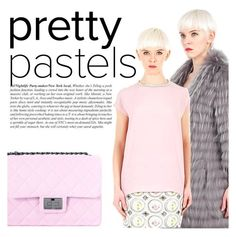 """Pretty pastel!"" by thequeenstore ❤ liked on Polyvore featuring Design Inverso, Numerootto and Maurizio Pecoraro"