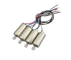 EBOYU(TM) Updated Motors for SYMA X5HW X5HC X5UW X5UC RC Quadcopter Drone Replacement Spare Parts Motors CCW and CW with Gear
