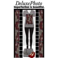 Deluxephotos (36) by irresistible-livingdeadgirl on Polyvore featuring Dr. Denim, Pilot, Fendi, fendi, roses, zazzle and society6
