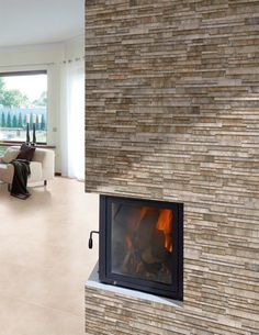 Inject a textured look into an interior or exterior wall space with these Marron Cladding Effect Tiles. Kitchen Tiles Design, Kitchen Wall Tiles, This Ole House, Tile Suppliers, Metal Buildings, Wall Spaces, Cladding, Innovation Design, Tile Floor