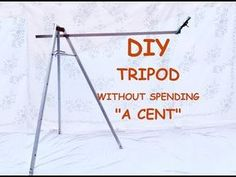 DIY Tripod without spending a CENT by using an ANTENNA with a few easy step by step process.In this video you can see How to Make a Tripod with Antenna. Phone Tripod Diy, Diy Tripod, Camera Tripod, Diy Camera Slider, Diffuser Diy, Television Antenna, Smartphone Holder, Pose, Camera Accessories