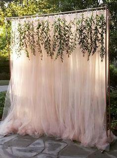 Unique outdoor wedding ceremony decor; Via Haute Floral