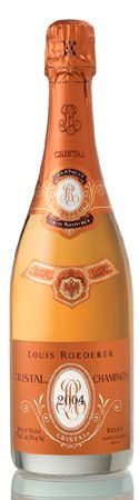 Louis Roederer Cristal Rose 2004 from Champagne, France - Cristal Rosé 2004 is precise, racy and balanced. A pastel pink colour with bright, slightly orange glints. Fine, light bubbles in a long-lasting flow. Champagne Region, Champagne Taste, Vintage Champagne, Champagne Brands, Crystal Champagne, Sparkling Wine, Louis Roederer Cristal, Bottle Shoot, Crystals