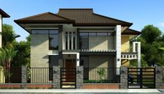 two-story contemporary home Decorated with dignity (4)