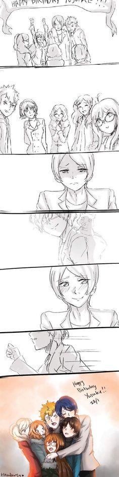 Made me cry. Persona 5 Yusuke