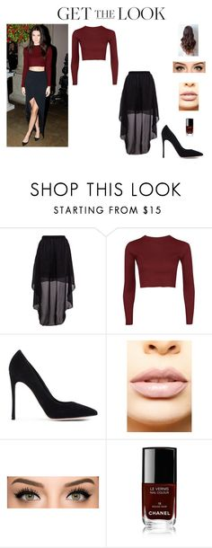 """""""Kendall Jenner"""" by annieb0bannie ❤ liked on Polyvore featuring Gianvito Rossi, LASplash, Chanel, women's clothing, women's fashion, women, female, woman, misses and juniors"""