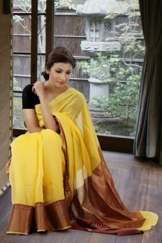 Visit the post for more. Indian Attire, Indian Wear, Pakistani Outfits, Indian Outfits, Bollywood Designer Sarees, Modern Saree, Simple Sarees, Love Clothing, Saree Styles