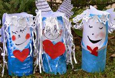 Tvoříme s dětmi ☺: prosinec 2014 Diy Christmas Tree, Christmas Tree Decorations, Advent, Reusable Tote Bags, Outdoor Decor, Tempera