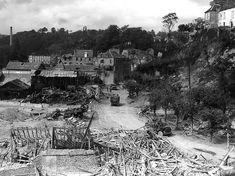 Saint-Lô le 29 juillet 1944. © US Army