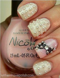 Fabulous Pearl Nail Art