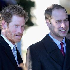 """Príncipe Harry brinca com William e avisa: """"você será rei e eu não, então posso fazer o que quero"""""""