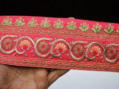 Jacquard Trimming Tape 4yds Ribbon Trim Fringe Embroidery Lace Trim Sew on
