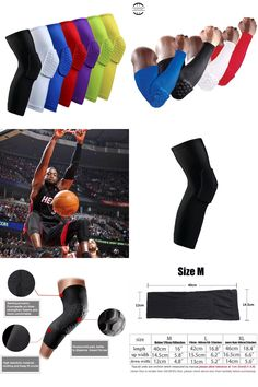 f251553eec [Visit to Buy] 2017 Basketball knee pads Adult kneepad Football knee brace  support Leg Sleeve knee Protector Calf compression knee Sport Safety