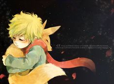 Beautiful artwork for Le petit prince.