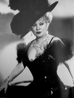 Mae West Pin Up Girl | ... broads who want to rule the world alone without men who d do up the