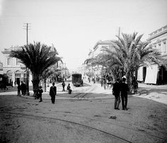 1903 - Η Πλατεία Λαυρίου αρχή της 3ης Σεπτεμβρίου.