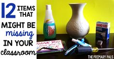 12 Items That Might Be Missing In Your Classroom