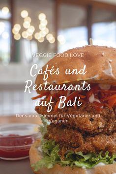 Diese Cafés und Restaurants sind definitiv einen Besuch wert, wenn ihr auf Bali unterwegs seid. Das Essen ist einfach nur köstlich. Manche Restaurants haben ein großes veganes und vegetarisches Angebot. Manche sind sogar komplett vegan *.* Tofu Scramble, Kuta, Bali, Restaurants, Chicken, Ethnic Recipes, Life, Food, Vegetarian