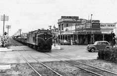 NZR Palmerston North in the Image Transpress NZ Train Pictures, Kiwiana, Train Station, Locomotive, Over The Years, New Zealand, Trains, Diesel, 1950s