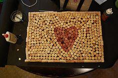 Cork door mat