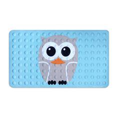 Wide-Eyed Owl Bath Mat | dotandbo.com