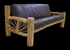 Rustic Sofas | Rustic furniture sofa | Misty Mountain Custom Handmade Furniture ...