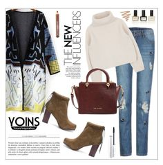 """Yoins"" by vidrica ❤ liked on Polyvore featuring Ted Baker, Balmain, MAC Cosmetics and yoins"