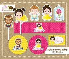 Kit Festa Bela e a F
