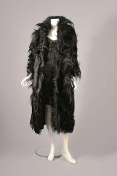 Crazy monkey coat, circa 1950