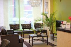 Waiting Area at SanOlvi Beauty Salon... although I never had to wait
