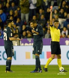 f0c29728976 This is how awesome😅 Kazemiro received his FIRST red card yesterday as  part of Real
