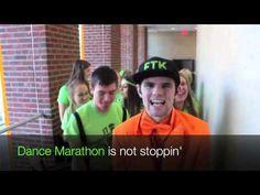 Carly Rae Jepsen:   Dance Marathon, maybe?   Fighting pediatric cancer and finding a cure.   University of Iowa Dance Maraton