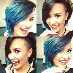"""""""Hoy 2 de oct 2014 me puse un nuevo color, que talco??""""    Demi Lovato"""