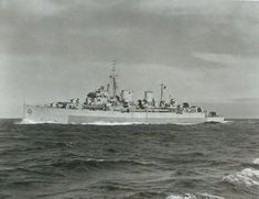 HMCS Prince Robert Returns to Hong Kong in 1945